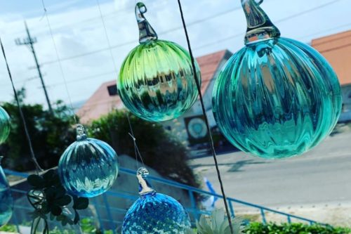 ガラス工房PONTE店内の様子