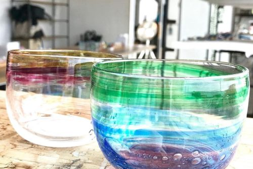 ガラスの小鉢