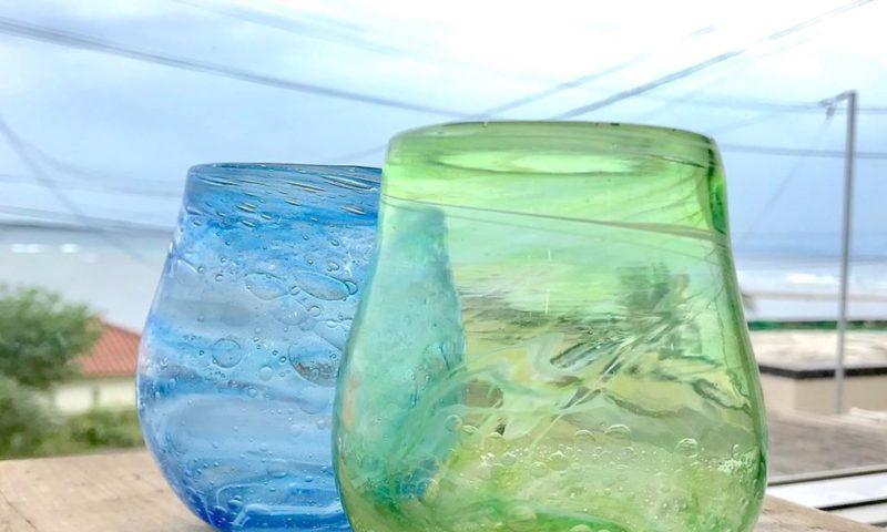緑のグラス