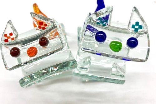 ガラスシーサーミニ