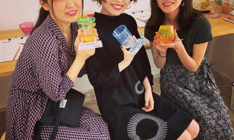 宮古島で吹きガラス体験!