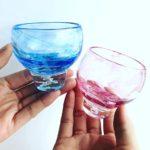 沖縄らしいカラーのぐい飲み